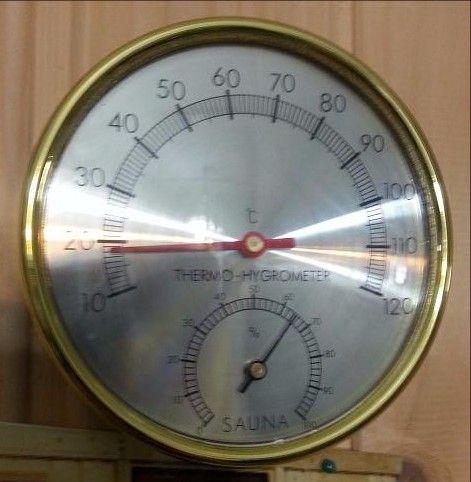 80455C - ,תרמומטר היגרומטר משולב
